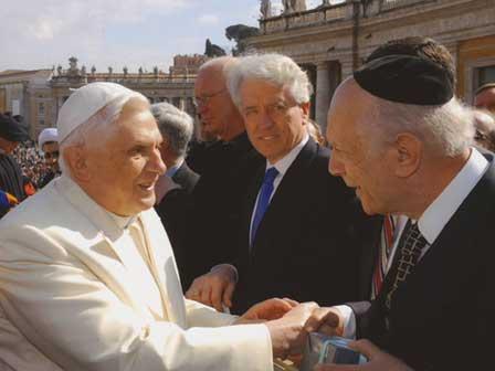 Раввины приветствуют визит Папы Бенедикта XVI в Святую землю