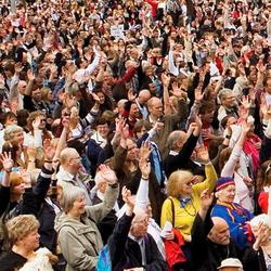 В Стокгольме состоялась христианская манифестация