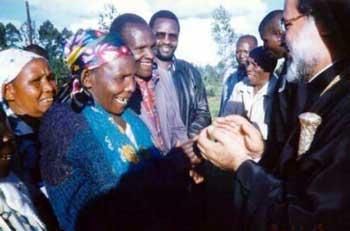 Визит патриарха Александрийского в Замбию