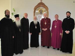 В Греции побывала делегация Англиканской церкви