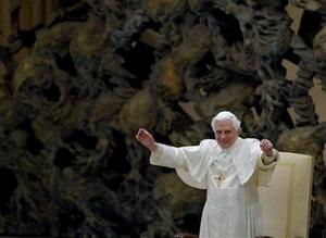 Папа Бенедикт XVI посетил Монте-Кассино
