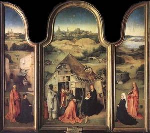 """Алтарный триптих из частной коллекции выставлен в музее """"Städel"""""""