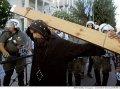 В Афинах арестованы демонстранты-мусульмане