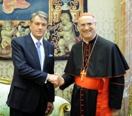 Віктор Ющенко зустрівся з очільниками Ватикану