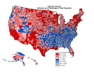 22% населения США являются католиками