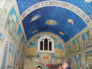 Фрески капеллы Скровенья представлены в Софии Киевской