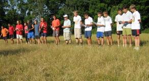 На Черкасчине открылся детский казацко-христианский лагерь