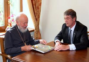 Відбулася зустріч Президента України та митрополита Володимира