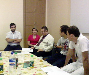 Засідання Богословського клубу імені Максима Сповідника