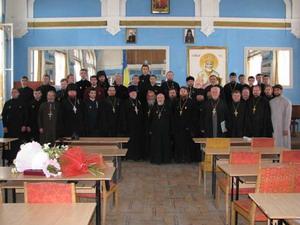 Випускний акт в Ужгородській богословській академії