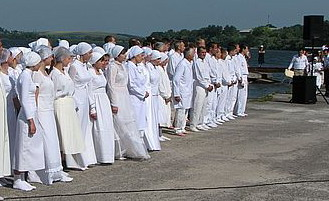 5 липня тернополяни охрестилися в Ставі