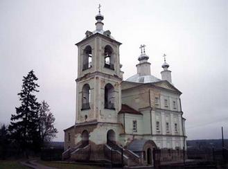 Раскопан фундамент высочайшей церкви Смутного времени