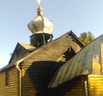 Затримано винуватців підпалу храму УПЦ КП у Шостці