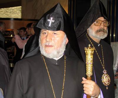 Гарегин II поблагодарил РПЦ за миротворчество