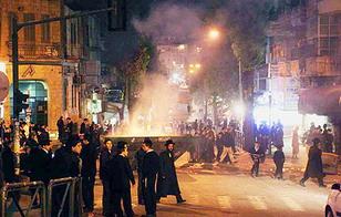Религиозные меньшинства протестуют в Иерусалиме