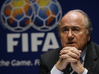 "Президент ФИФА: ""Стадион не место для молитвы"""